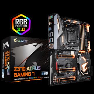 GIGABYTE AORUS Z370 GAMING 7 – Z370 Express Chipset Socket LGA1151 GA-Z370-AORUS-GAMING7 Box