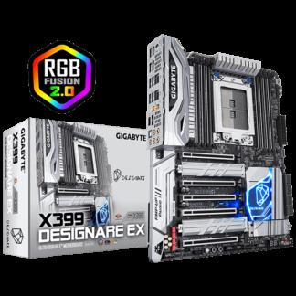 GIGABYTE X399 DESIGNARE EX – AMD X399 Chipset Socket TR4 GA-X399-DESIGNAREEX Box