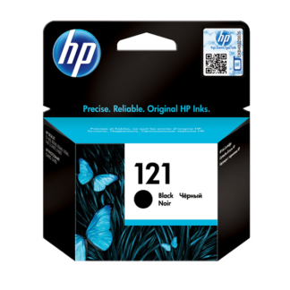 HP 121 Black Original Ink Cartridge (CC640HE)
