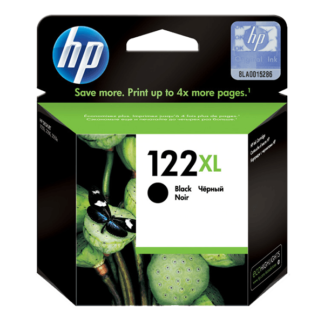 HP 122XL High Yield Black Original Ink Cartridge (CH563HE)