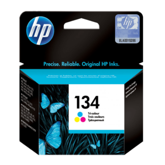 HP 134 Tri-color Original Ink Cartridge (C9363HE)