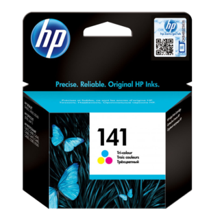 HP 141 Tri-color Original Ink Cartridge (CB337HE)