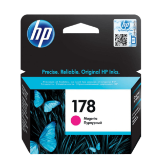 HP 178 Magenta Original Ink Cartridge (CB319HE)