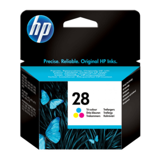 HP 28 Tri-color Original Ink Cartridge (C8728AE)