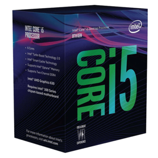 Intel Core i5 8400 2.80GHz Six Core Processor LGA 1151 Socket BX80684I58400