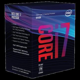 Intel Core i7 8700 3.20GHz Six Core Processor LGA 1151 Socket BX80684I78700