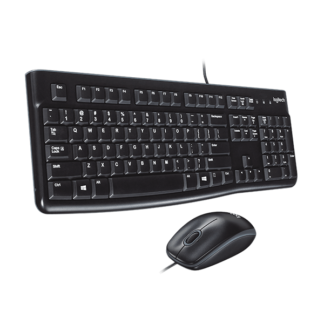 Logitech MK120, Black ( Keyboard + Mouse ) Combo - 920-002562