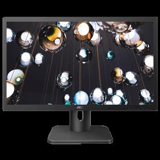 AOC 24E1H 23.6″ Full HD IPS Monitor AOC-24E1H Front