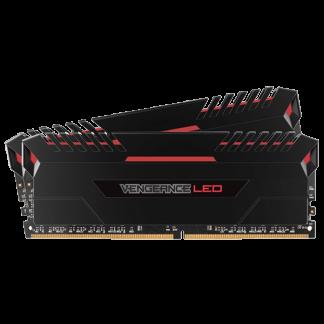 Corsair Vengeance LED Red Kit DDR4 Front