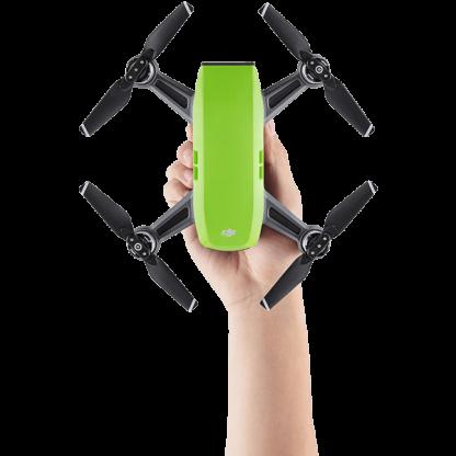 DJI SPARK Green Drone Hand