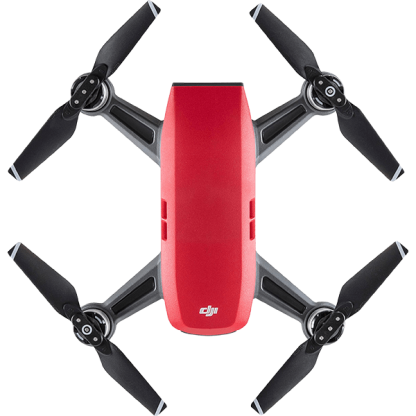 DJI SPARK Red Drone Top