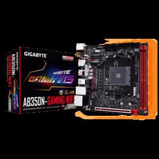 GIGABYTE AB350N WIFI – AMD B350 Chipset Socket AM4 GA-AB350N-GAMING-WIFI Box