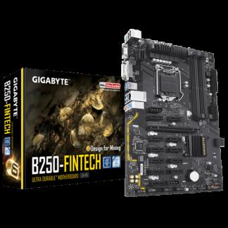GIGABYTE B250-FINTECH - B250 Express Chipset Socket LGA1151 GA-B250-FINTECH Box