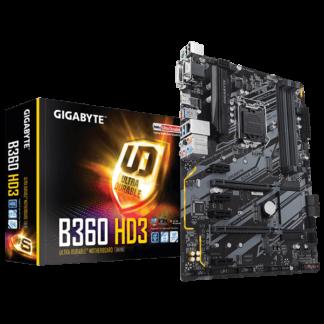 GIGABYTE B360M-D3H – B360 Express Chipset Socket LGA1151 GA-B360-HD3 Box