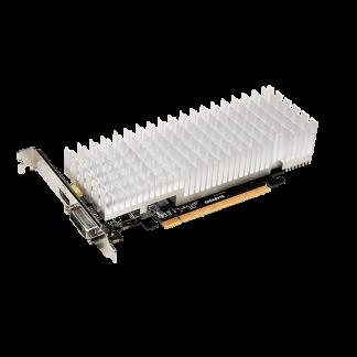 GIGABYTE nVidia GeForce GT1030 SILENT- 2048MB GDDR5, 64-Bit Memory Bus GV-N1030D4-2GL Angle