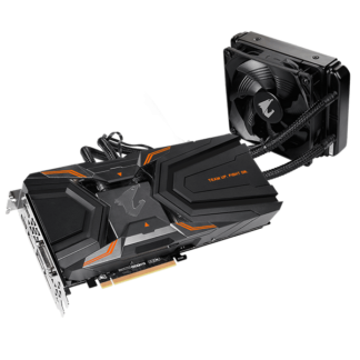 GIGABYTE nVidia GeForce GTX1080 Ti AORUS X WATERFORCE – 11264MB GDDR5X, 352-Bit Memory Bus GV-N108TAORUSXW-11GD 1