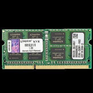 Kingston KVR16LS11_8 ValueRAM 8GB DDR3L 1600Mhz Non ECC Memory RAM SODIMM Front