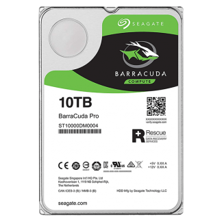 Seagate BarraCuda Pro 10TB 7200RPM 3.5 SATA 6GBs 256MB Cache ST10000DM0004