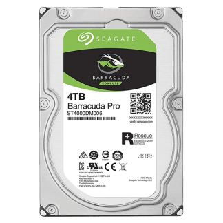 Seagate BarraCuda Pro 4TB 7200RPM 3.5 SATA 6GBs 128MB Cache ST4000DM006