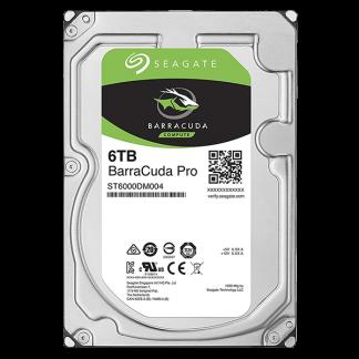 Seagate BarraCuda Pro 6TB 7200RPM 3.5 SATA 6GBs 256MB Cache ST6000DM004