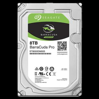 Seagate BarraCuda Pro 8TB 7200RPM 3.5 SATA 6GBs 256MB Cache ST8000DM005